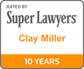 Rated by Super Lawyers - 10 Years